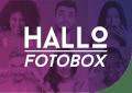 Hallo Fotobox für deine Party Logo